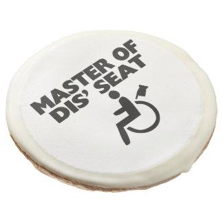 Master Of Dis' Seat Wheelchair Sugar Cookie