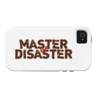Master OF Disaster iPhone 4/4S Cases