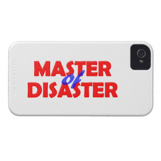 Master OF Disaster Case-Mate iPhone 4 Cases
