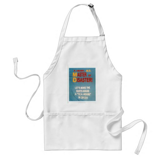 MASTER_of_DISASTER-design Aprons