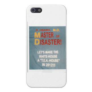 MASTER_of_DISASTER-design Case For iPhone 5