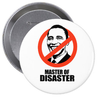 Master of Disaster Pinback Button