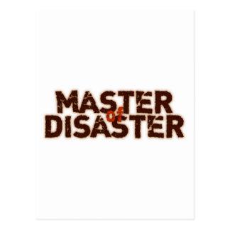 Master OF Disaster Postcard