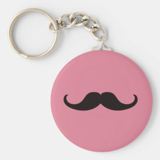 Master of Disguise Mustache Customizable Keychain