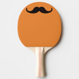 Master of Disguise Mustache Customizable Ping Pong Paddle