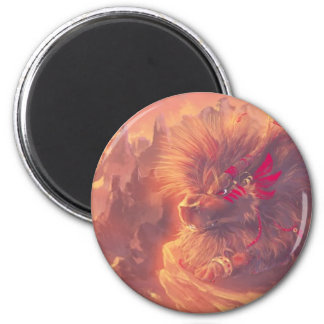 Master of Grasses 2 Inch Round Magnet