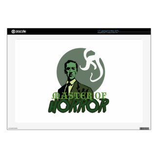 Master Of Horror Laptop Decal