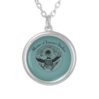Master Of Internet medallion Personalized Necklace