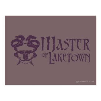 Master Of Laketown Name Postcard