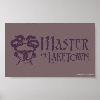 Master Of Laketown Name Poster