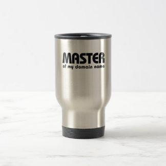 Master of my Domain Name Mug