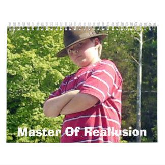 Master Of Reallusion Calendar