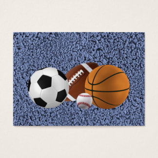 MASTER OF SPORTS (baseball, football, basketball) Business Card