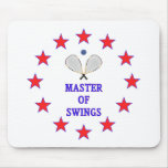 Master of Swings Racquetball Mouse Pad