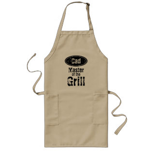 Master Of The Grill Bbq Apron For Dad at Zazzle