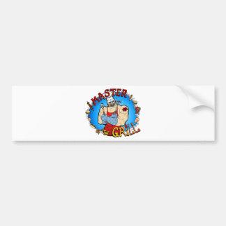 Master of the Grill Bumper Sticker