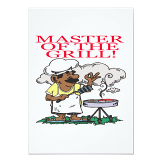 Master Of The Grill Card