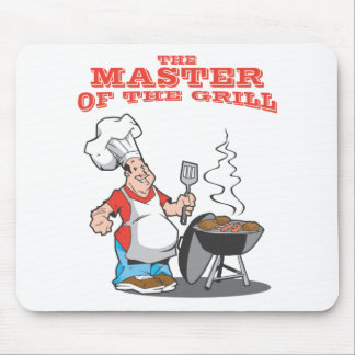 Master of the Grill Mouse Pad