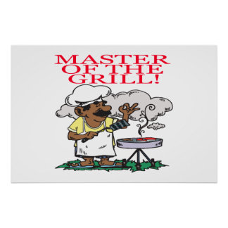 Master Of The Grill Posters