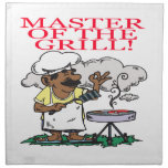 Master Of The Grill Printed Napkin