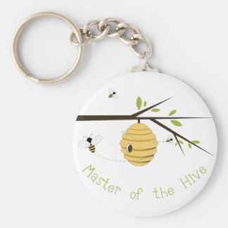Master Of The Hive Basic Round Button Keychain