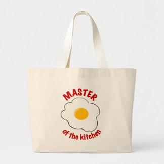 Master of the Kitchen Large Tote Bag