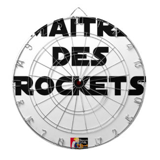 MASTER OF the ROCKETS - Word games - François City Dartboard With Darts