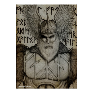 """Master of the Runes"" Print"