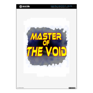 Master of the Void Decal For iPad 3