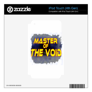 Master of the Void Decal For iPod Touch 4G