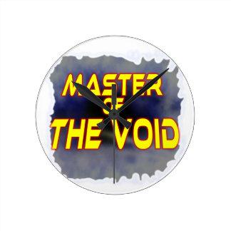 Master of the Void Round Clock
