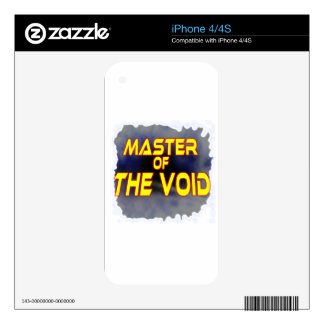 Master of the Void Skins For iPhone 4