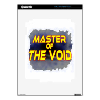 Master of the Void Skin For iPad 2