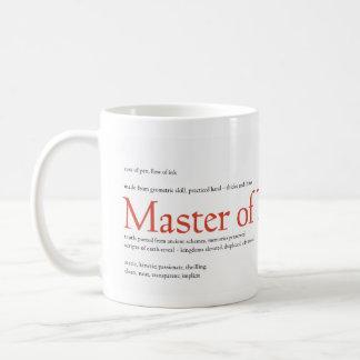 Master of Typography Coffee Mug