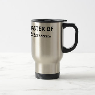 Master of Zzzzzz Travel Mug