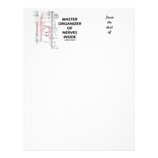 Master Organizer Of Nerves Inside (Nervous System) Letterhead