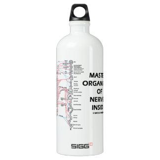 Master Organizer Of Nerves Inside (Nervous System) Water Bottle