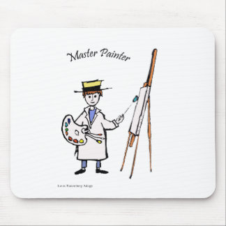 MASTER PAINTER MOUSE PAD