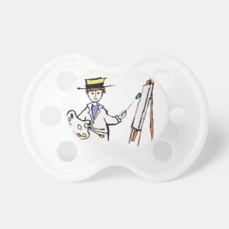 MASTER PAINTER PACIFIER
