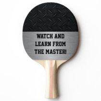 Master Ping Pong Player Ping-Pong Paddle