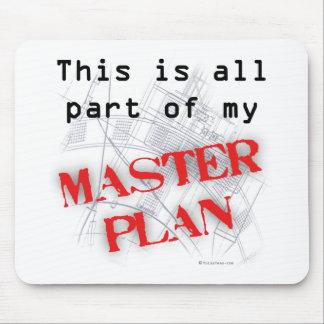 Master Plan Mouse Pad