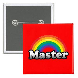 MASTER PRIDE 2 INCH SQUARE BUTTON