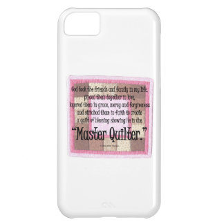 Master quilter case for iPhone 5C