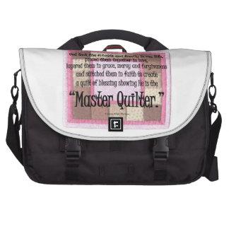 Master quilter commuter bag