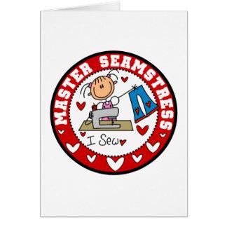 Master Seamstress Stationery Note Card