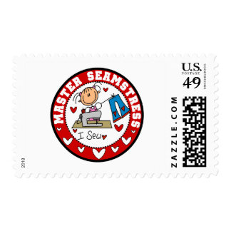 Master Seamstress Postage Stamps
