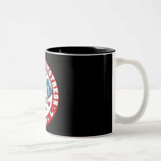 Master Seamstress Two-Tone Coffee Mug
