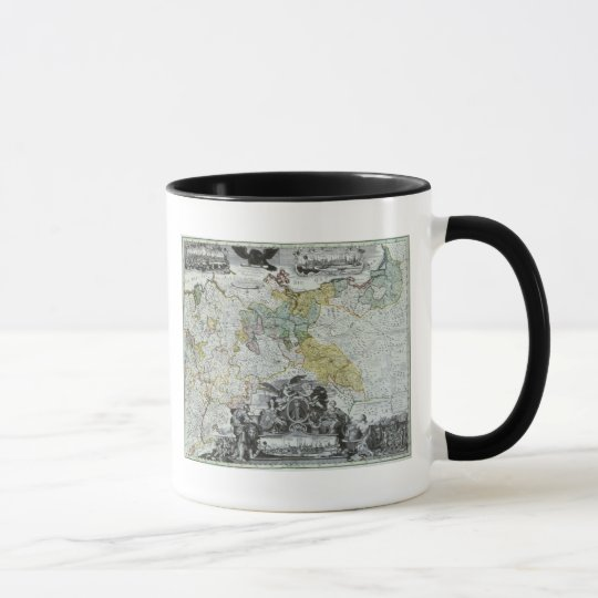 Master Sheet of the Prussian Sovereign Mug