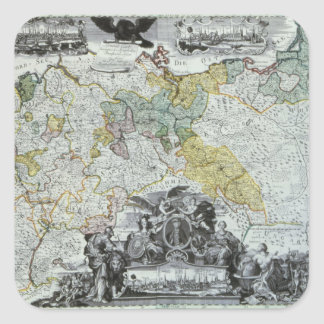 Master Sheet of the Prussian Sovereign Square Sticker
