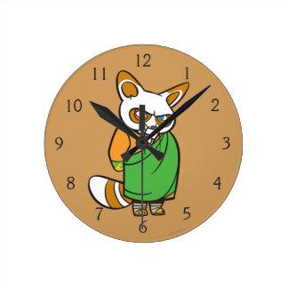 Master Shifu Round Clock